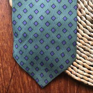 Calvin Klein silk necktie tie USA made
